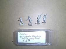 20mm ( 1/76 ) scale Battlefielf Mini WWII Sovet Naval Troops