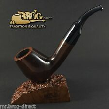 "OUTSTANDING Mr.Brog original smoking pipe nr.27 brown  "" BIG HORN "" GREAT GIFT"