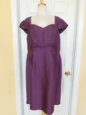 ADRIANNA PAPELL WOMAN purple dress size 18W Nordstrom new $168