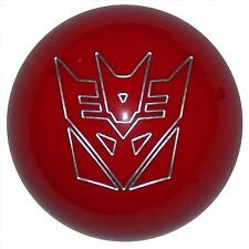 Red Transformer Decepticon shift knob M12x1.25