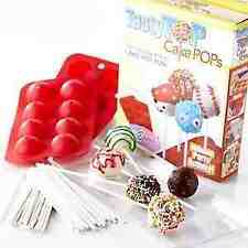 Tasty Top Cake Pops Non-stick Silicone Mold Kitchen Tool