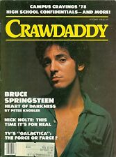 Bruce Springsteen cover Crawdaddy magazine October 1978