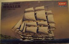 Academy 1/200 New Bedford Whaler Sailing Ship Circa 1835 Kit #1441 Very Nice