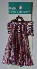 """Curtain & Chair Tie Back -27""""spread with 3"""" double tassel - 8 colors!!!"""