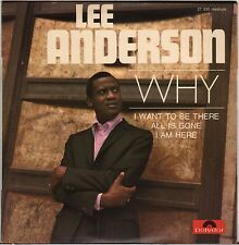 "LEE ANDERSON ""WHY"" NORTHERN SOUL 60'S EP POLYDOR 27 330"