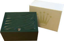 Authentic Vintage Rolex Oyster Datejust Green Wave Watch Box 39139.04