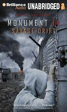 Monument 14: Savage Drift 3 by Emmy Laybourne (2015, MP3 CD, Unabridged)