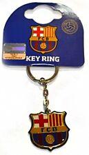 FC Barcelona Crest metal / enamel Keyring    (bb)