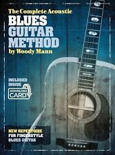 The Complete Acoustic Blues Guitar Method Play Country Folk Book Download Card