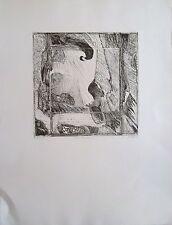 Vinçon gravure épreuve d'artiste Miroir Baroque 1986 signée P1330