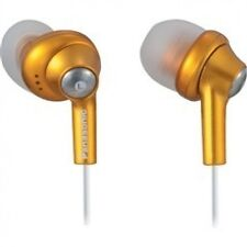 Panasonic RP-HJE280-D Inner Ear Earbud Headphones (Earbuds) w/Extension (Orange)
