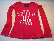 American Eagle Outfitters NYC South Long Sleeve Graphic Shirt Women's Size S