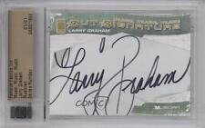 2012 Famous Fabrics Ink Music Cut Signatures #480 Larry Graham 1/1 Auto Card 0b0