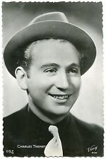 CARTE POSTALE PHOTO PERSONNALITE CHARLES TRENET