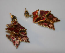 A Pair of Butterfly Earrings