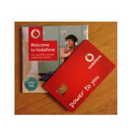 Vodafone Nano SIM Card Pay As You Go For iPhone 5, 5s and iPhone 6
