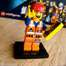 THE LEGO MOVIE Minifigures HARD HAT EMMET #3 SEALED Minifigs Series 71004 WORKER