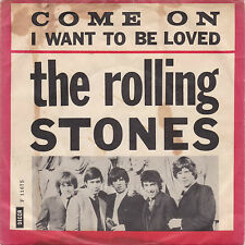 The Rolling Stones - Come On / I Want To Be Loved - Dänemark/England 1963