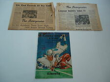 John Marshall High School Cleveland OH 1964 Football Program 1965 Newspapers