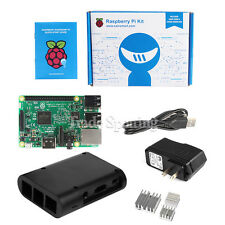 Raspberry Pi 3 Model B 1GB RAM Quad Core 1.2GHz CPU WiFi & Bluetooth Starter Kit