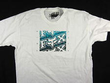 Fox Racing Moto-X FMX short sleeve tee shirt men's white regular fit size XL