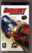 PSP Burnout Dominator (2007) UK Pal Original Version, Brand New & Factory Sealed