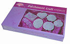 Pergamano Parchment Craft Starter Kit With Tools Gel Pen Parchment Paper & More!