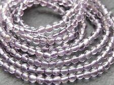 """*CLEARANCE*  2 STRINGS x 2.5mm AMETHYST ROUNDS, 14"""" strand, 130 beads"""