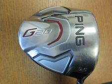Used PING Japan G20 9.5° Driver TFC330D Graphite Stiff Flex with Aqua Grip -1/64