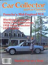 1984 CAR COLLECTOR AND CAR CLASSICS MAGAZIN 5 PORSCHE BLACKHAWK STUTZ LASALLE