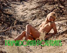 ELKE SOMMER 8x10 Lab Photo COLOR SEXY Artful Pose Outside Portrait Leggy RARE