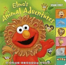 Elmo's Animal Adventures (Sesame Street) (Baby Fingers)