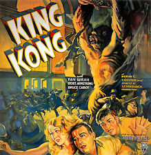 King Kong Film Fay Wray Film Vintage Cinema Movie Poster Print Picture A4
