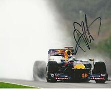 Sebastian Vettel signed 10x8 Image D photo UACC Registered dealer