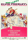 """FOLLOW THAT DREAM"" .. ELVIS PRESLEY .Classic Movie Poster A1A2A3A4 Sizes"