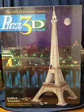 PUZZ3D EIFFEL TOWER 703 PIECES-THE FULLY DIMENSIONAL PUZZLE-1995