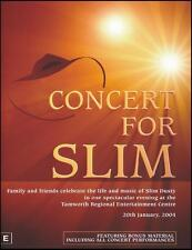 CONCERT FOR SLIM DUSTY DVD ~ LEE KERNAGHAN~PAUL KELLY~KASEY CHAMBERS +++ *NEW*