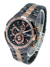 Brand New casio 539 - EFR chronograph wrist watch for men Black Copper