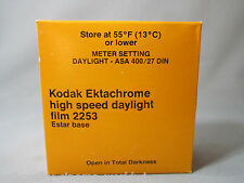 RARE KODAK EKTACHROME HIGH SPEED DAYLIGHT FILM 2253 150FT 35MM CAMERA