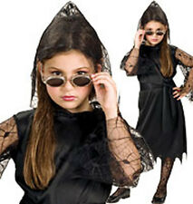 FOR 5 - 7 YEARS CHILDRENS VAMPIRESS FANCY DRESS COSTUME HALLOWEEN OUTFIT