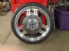 PM Front Wheel  with Rotor and  MT Tire  10 Passes  Nice    Drag Bike
