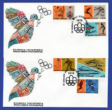 GREECE 1976 MONTREAL OLYMPICS FDC