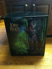Lord of the rings Dark lord Sauron statue Sideshow Fellowship weta sculpture