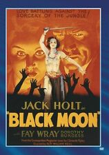 BLACK MOON (1934 Jack Holt) -  Region Free DVD - Sealed