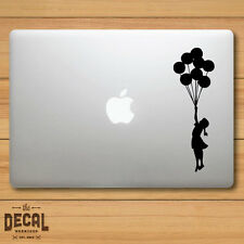 Banksy Girl with Balloons Macbook Sticker / Macbook Decal / Cover / Skin