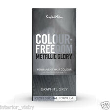 Knight & Wilson Colour Freedom Metallic Glory Graphite Grey Permanent Hair Color