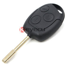 3 Button Remote Key + New Remote and Transponder Chip 4D60 for FORD Focus Mondeo