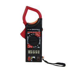 DT-266 AC/DC Electronic Tester Digital Clamp Voltage Meter Amperage +Test Probe