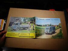 Ancien Catalogue Camion Renault leger 2T5