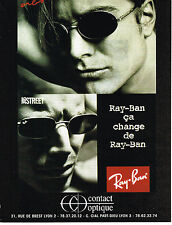 PUBLICITE ADVERTISING 025  1996  RAY-BAN   collection lunettes solaires